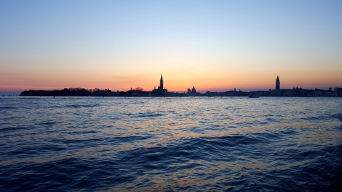 sunset-venice
