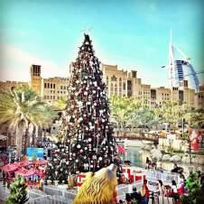 Christmas Tree Madinat Jumeirah Dubai