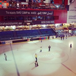 Ice Rink Dubai Mall