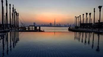 Skyline at Dubai Creek Harbour